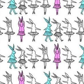 Bunny Twirl (Colour)