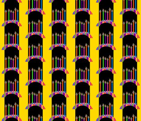 Happy Birthday! (Small) fabric by anniedeb on Spoonflower - custom fabric
