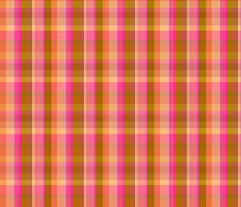 Earthly plaid fabric by keweenawchris on Spoonflower - custom fabric