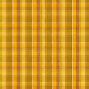 Brass plaid