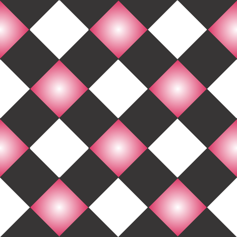 Harlequin_Ribbon fabric by michelle_zollinger_tams on Spoonflower - custom fabric