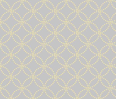 Stitching shadows fabric by keweenawchris on Spoonflower - custom fabric