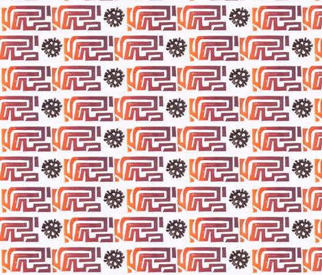 virus fabric by timaroo on Spoonflower - custom fabric