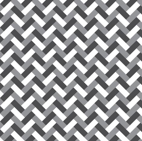 Grey weaving fabric by petitspixels on Spoonflower - custom fabric