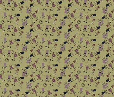 Binocular Viktor fabric by grafiketgrafok on Spoonflower - custom fabric