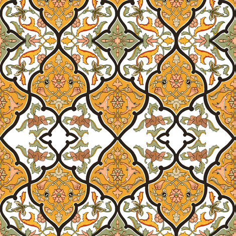 The Sybil ~ Original fabric by peacoquettedesigns on Spoonflower - custom fabric