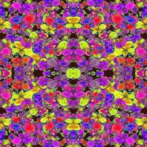 FLOWER FEAST MULTICOLOR GEOMETRIC