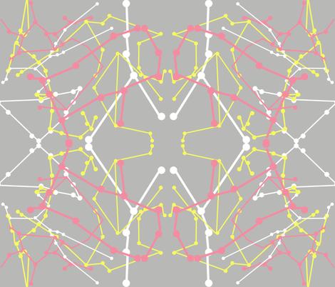 Zodiac Dot to Dot fabric by josephine_ on Spoonflower - custom fabric