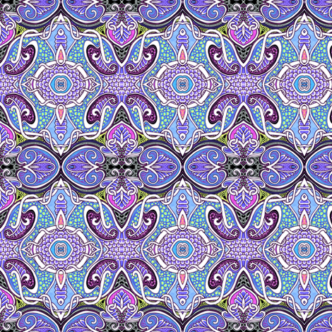 Curls Unfurl and Bubbles fabric by edsel2084 on Spoonflower - custom fabric