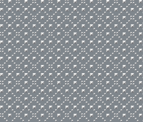 Studded_Checkerboard_Light_2 fabric by aygeartist on Spoonflower - custom fabric