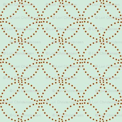 Stitching circles