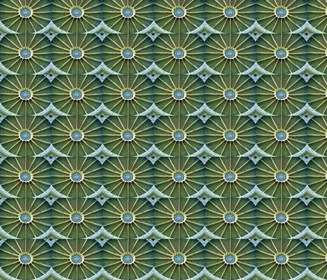 green diatom8 fabric by kernalg on Spoonflower - custom fabric