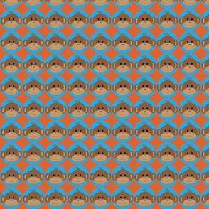 Monkeys in Blus Circles