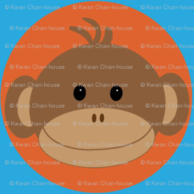 Rmonkeyfabricorangeonblue_preview