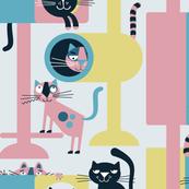 Cat Condo (pink)