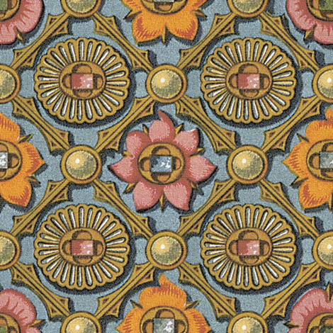 Gilded Argyle ~ Florentine fabric by peacoquettedesigns on Spoonflower - custom fabric