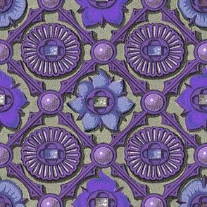Gilded Argyle ~ Violet
