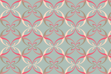 Vintage Ribbon fabric by erijoyjoy on Spoonflower - custom fabric