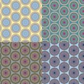 Brocade circles - FQ collection
