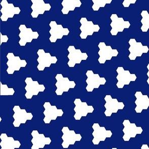 shark tooth navy