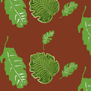 tiki leaves