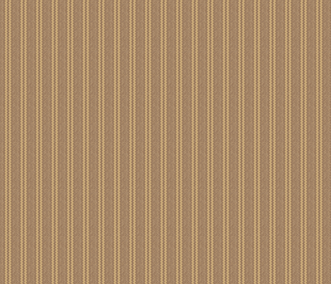 Brown Wheat Zigzag Stripe Vertical © Gingezel™ fabric by gingezel on Spoonflower - custom fabric