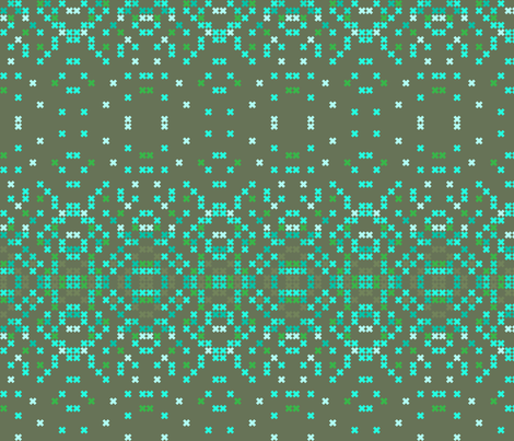 geo_ombre fabric by holli_zollinger on Spoonflower - custom fabric