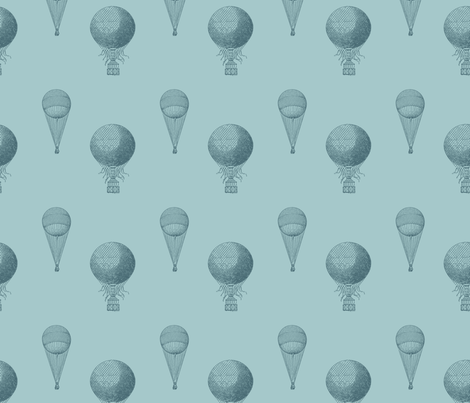 Hot Air Balloons fabric by peacefuldreams on Spoonflower - custom fabric