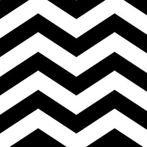 Chevron in Black and White