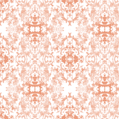 Faded Coral botanicals