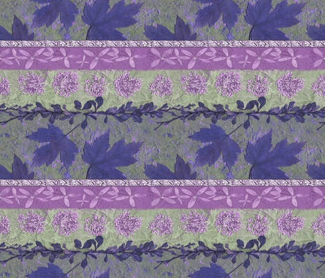 Rosy Veil fabric by mypetalpress on Spoonflower - custom fabric