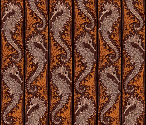 Rrseahorse_stripe_mosaic___chocolate___peacoquette_designs___copyright_2015_shop_preview