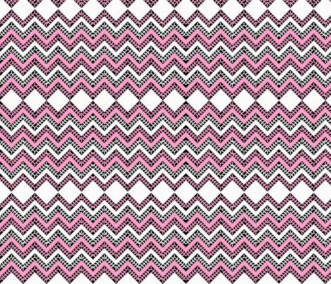 Woodrose_Chevron fabric by natalie_yates_designs on Spoonflower - custom fabric