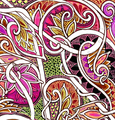 In Love With Autumn Paisley