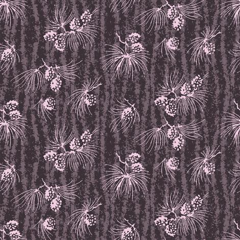 Midnight treetops fabric by keweenawchris on Spoonflower - custom fabric