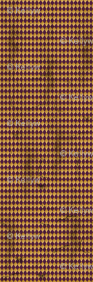 Distressed Harlequin Purple SMALL
