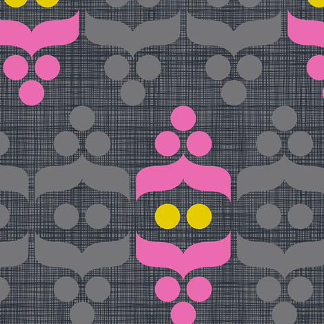 Geometric Holiday: Ornament fabric by cerigwen on Spoonflower - custom fabric