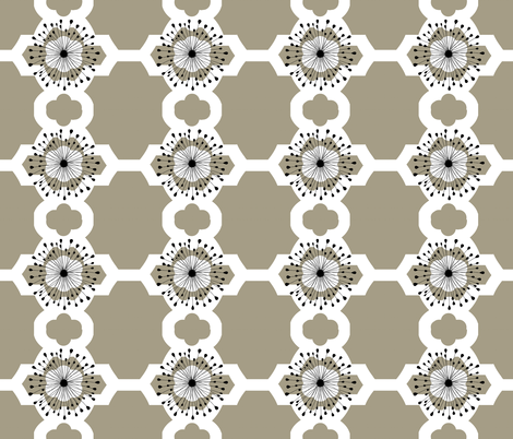 Cottage Park Trellis fabric by paragonstudios on Spoonflower - custom fabric