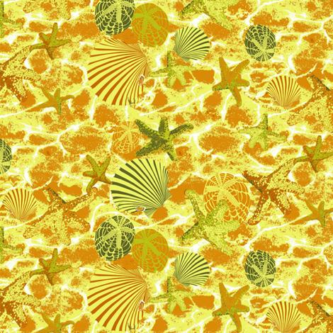Ocean Treasure fabric by house_of_heasman on Spoonflower - custom fabric