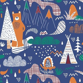 A bear camp