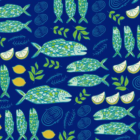 kuler mahi 2.0  fabric by pattyryboltdesigns on Spoonflower - custom fabric