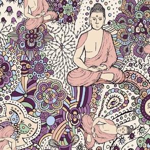 Serene Buddha Print