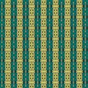 Geometric 0225 r1 yellow teal