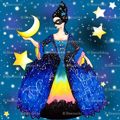 The Queen of Night hangs the Moon