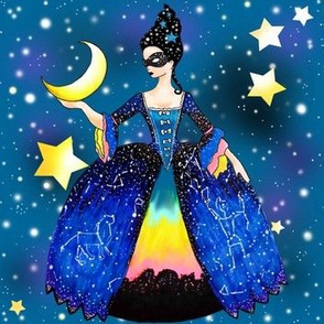 The Queen of Night hangs the Moon