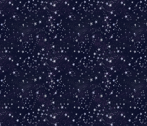 stars_everywhere fabric by cindypie on Spoonflower - custom fabric