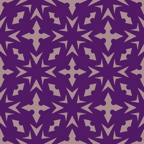 Starburst Trellis - Violet