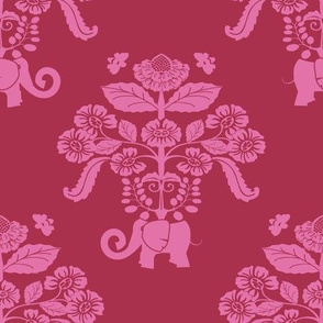 Elephants_in_my_garden_berry_Damask-01