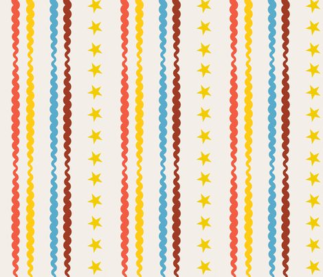 Circus Stripes fabric by edward_elementary on Spoonflower - custom fabric