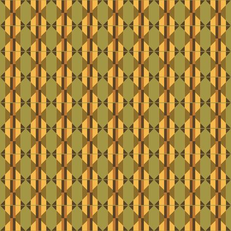Olive green and gold abstract fabric by denisebeverly on Spoonflower - custom fabric